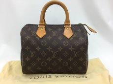 "Photo1: Auth Louis Vuitton Monogram Speedy 25 Hand Bag Vintage 0D020030n"" (1)"