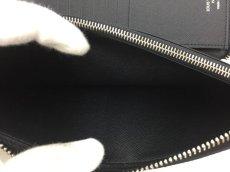 "Photo7: Auth Louis Vuitton Taiga Black Leather Zippy Long Wallet UNUSED  0D280120n"" (7)"