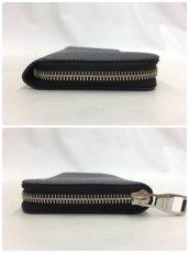 "Photo11: Auth Louis Vuitton Taiga Black Leather Zippy Long Wallet UNUSED  0D280120n"" (11)"