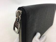 "Photo4: Auth Louis Vuitton Taiga Black Leather Zippy Long Wallet UNUSED  0D280120n"" (4)"