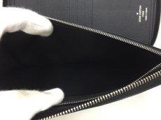 "Photo8: Auth Louis Vuitton Taiga Black Leather Zippy Long Wallet UNUSED  0D280120n"" (8)"