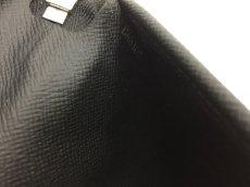 "Photo10: Auth Louis Vuitton Taiga Black Leather Zippy Long Wallet UNUSED  0D280120n"" (10)"