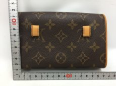 "Photo2: Auth Louis Vuitton Monogram Pochette Florentine Bum Bag M51855  0E120100n"" (2)"