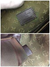 """Photo9: Auth Louis Vuitton Monogram Mini Canvas Besace Mary Kate Shoulder bag 0E120130n"""" (9)"""
