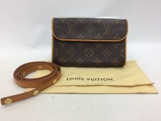 "Photo1: Auth Louis Vuitton Monogram Pochette Florentine Bum Bag M51855  0E120100n"" (1)"