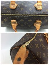"Photo10: Auth Louis Vuitton Monogram Speedy 35 Hand Bag Vintage 0F170060n"" (10)"