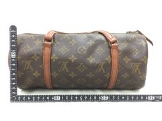 "Photo2: Auth Louis Vuitton Monogram Papillon 30 hand bag with JUNK Pouch 0F180010n"" (2)"