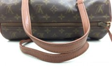 "Photo4: Auth Louis Vuitton Monogram Papillon 30 hand bag with JUNK Pouch 0F180010n"" (4)"