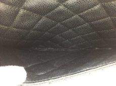 "Photo9: Auth Chanel Lambskin Black matelasse Shopping Tote Shoulder bag 0G15 200601 n"" (9)"