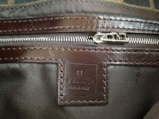 Photo7: Auth FENDI Zucca Pattern Logos Shoulder Bag Brown Made Italy 5F301320 (7)