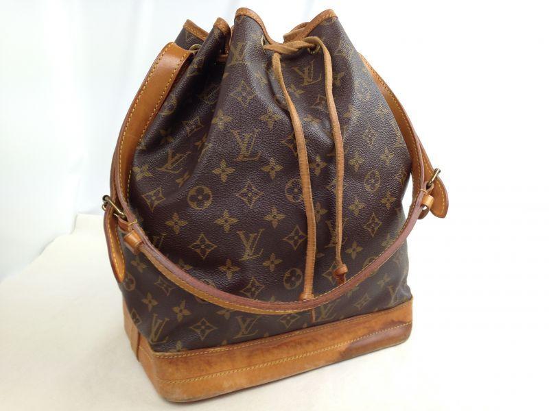 Photo1: Authentic Louis Vuitton Monogram Noe Shoulder Bag 5J142160p (1)