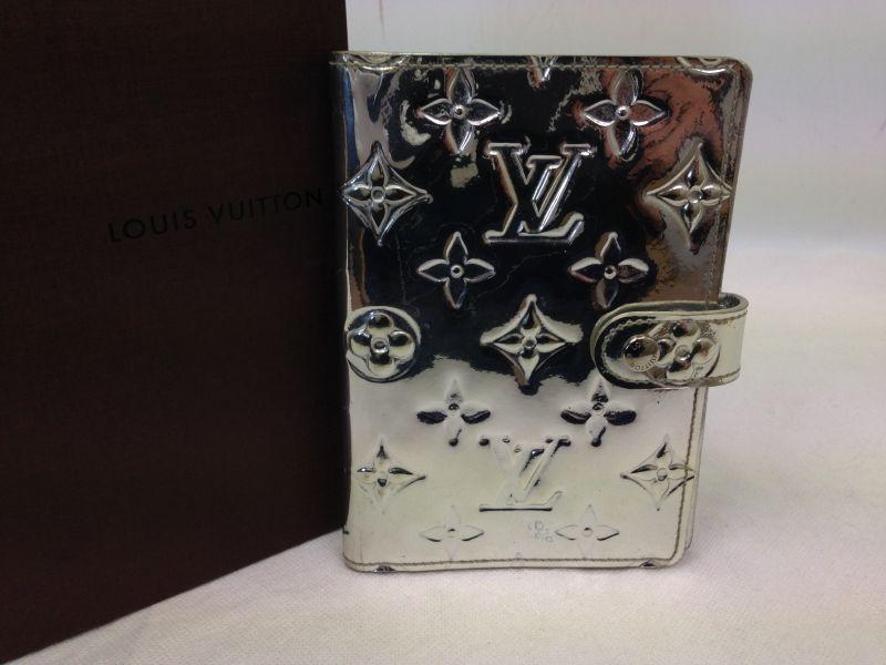 Photo1: Auth Louis Vuitton Agenda Cover PM Monogram Miroir Agenda Cover  6A260060p (1)