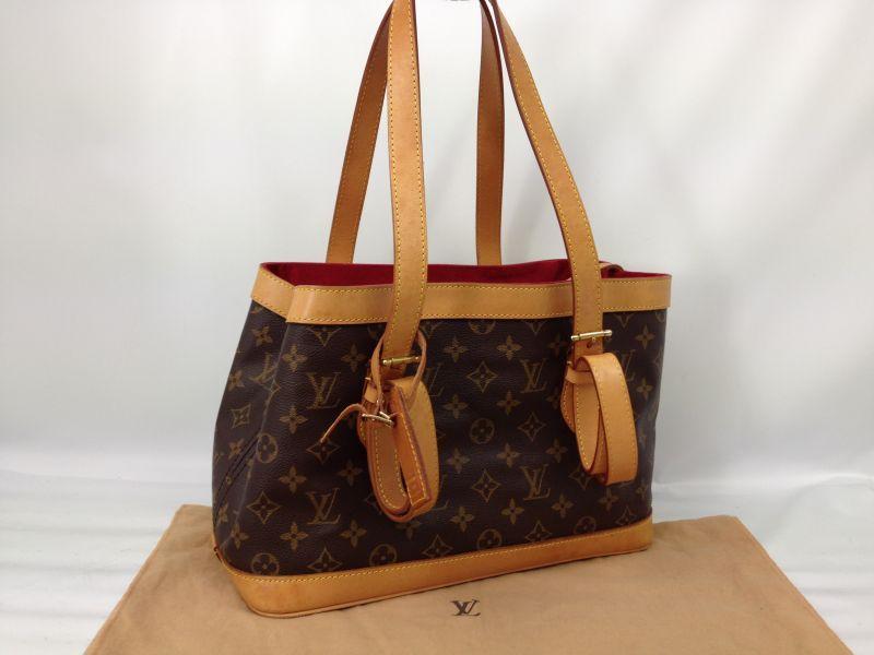 Photo1: Auth Louis Vuitton Monogram Tote Shoulder Bag Custom-made Special item 7B120210N (1)