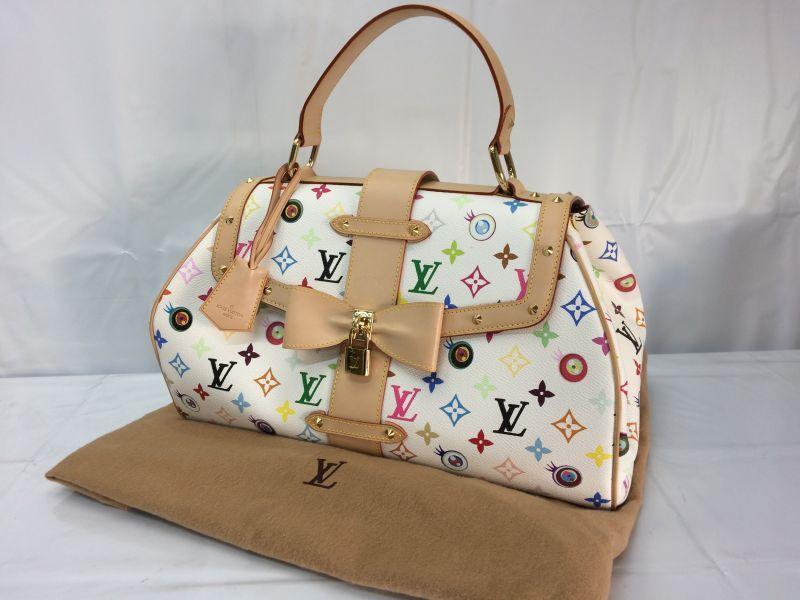 Photo1: Auth Louis Vuitton Eye Love You Sac Retro GM Hand Bag A Rank 8B120010r (1)
