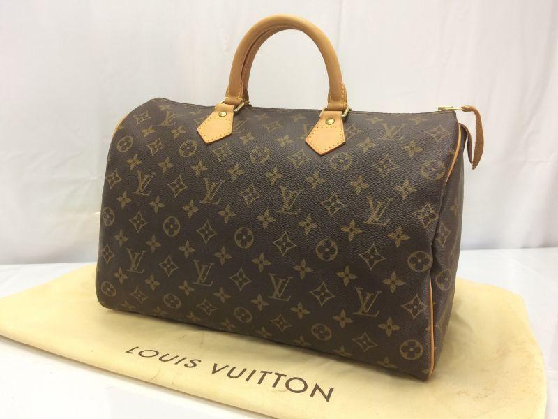 Photo1: Auth Louis Vuitton Monogram Speedy 35 Hand Bag  8E170630r (1)
