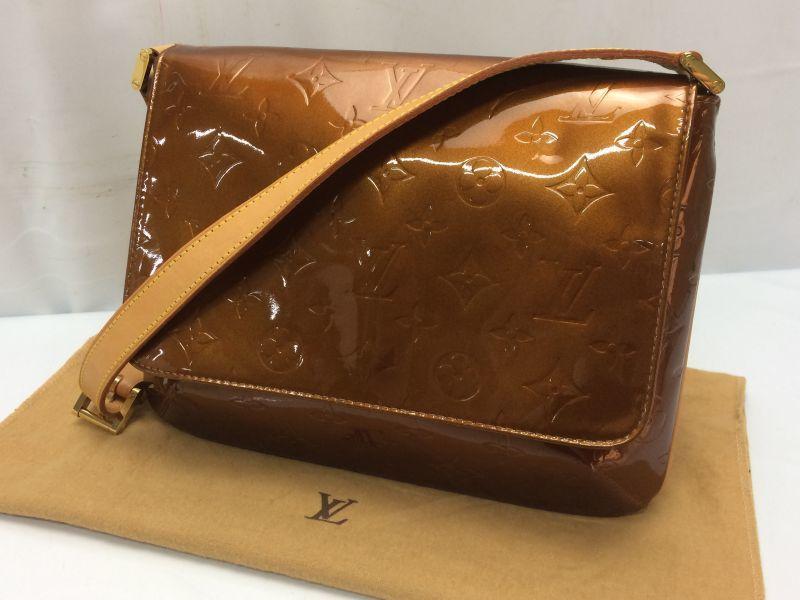 Photo1: Auth LOUIS VUITTON Vernis Thompson Street Shoulder Bag 8H280170m (1)