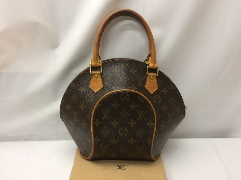 Photo1: Auth Louis Vuitton Monogram Ellipse PM Hand Bag 9C280060k (1)