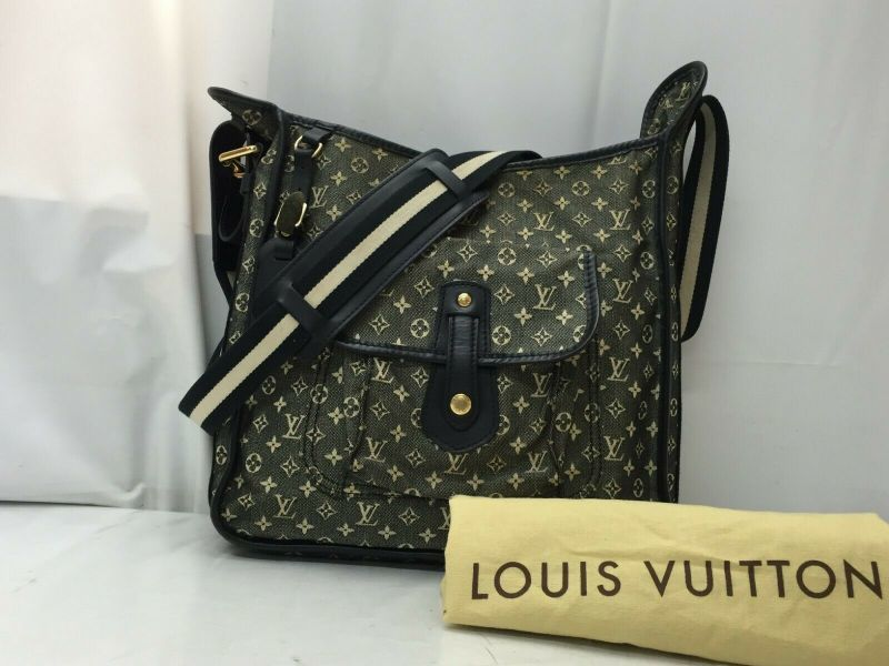 Photo1: Auth Louis Vuitton Monogram Mini Besace Mary Kate Shoulder Bag 9E220100m (1)