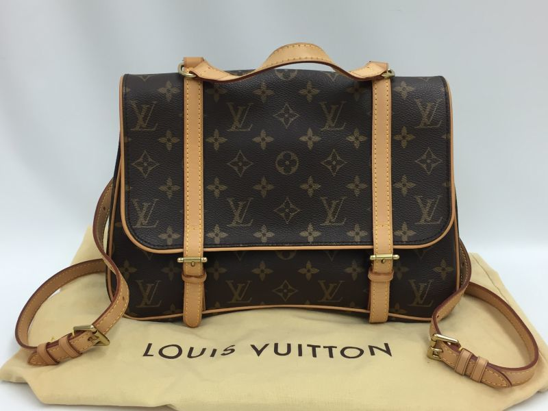 Photo1: Auth Louis Vuitton Monogram Marelle Sac a Dos 3 way Shoulder bag 9H120150n (1)
