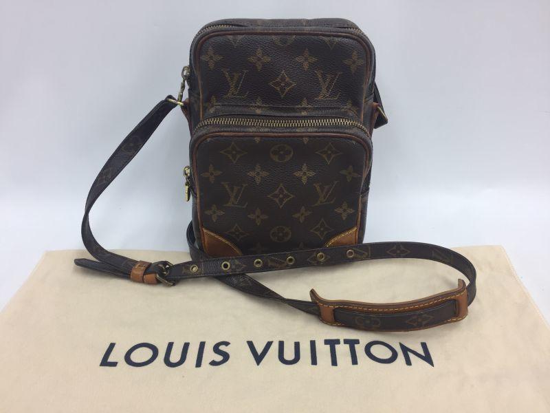 Photo1: Auth Louis Vuitton Monogram Amazon Shoulder bag Vintage 9L050240n (1)