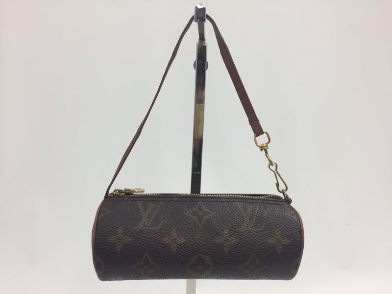 Photo1: Auth Louis Vuitton Monogram Accessory Pouch for Papillon 9L050190n (1)