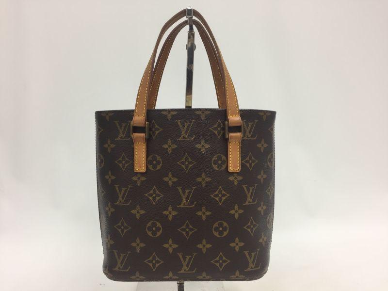 Photo1: Auth Louis Vuitton Monogram Vavin PM Hand bag Vintage 9L050300n (1)