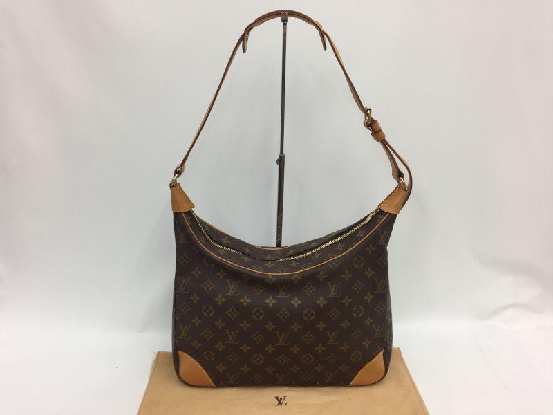 Photo1: Auth Louis Vuitton Monogram BOULOGNE 35 Shoulder bag Vintage 0A160090n (1)