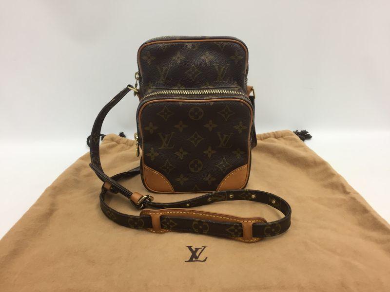 Photo1: Auth Louis Vuitton Monogram Amazon Shoulder bag Vintage 0A280100n (1)