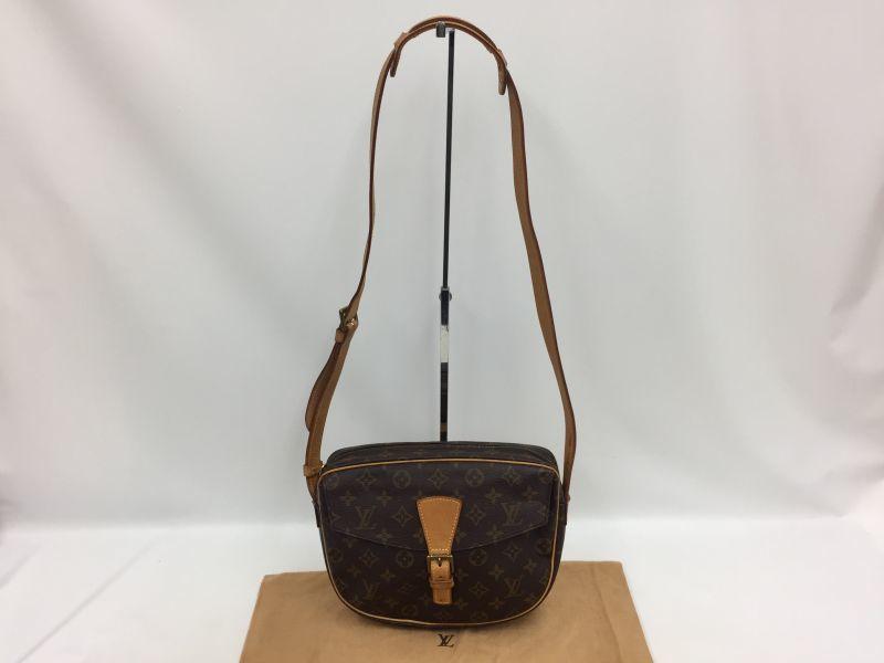 Photo1: Auth Louis Vuitton Monogram Jeunefille MM Shoulder bag 0B120230n (1)