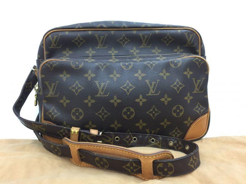 """Photo1: Auth Louis Vuitton Monogram Nile Shoulder Bag Vintage 0C100100n"""" (1)"""