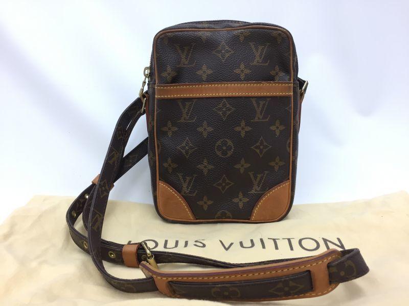 "Photo1: Auth Louis Vuitton Monogram Danube Shoulder Bag Vintage 0C110090n"" (1)"