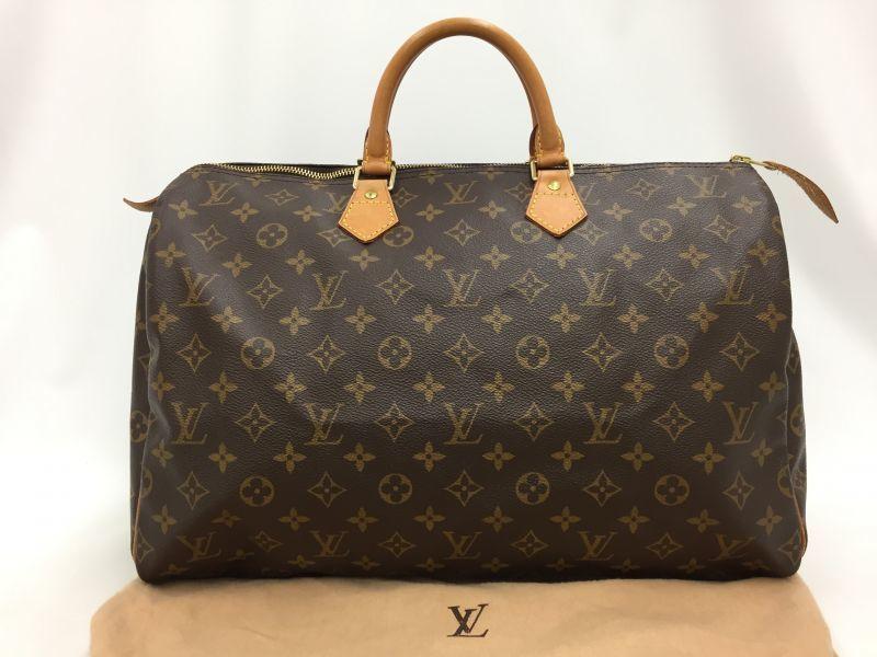 "Photo1: Auth Louis Vuitton Monogram Speedy 40 Hand Bag Vintage 0D020110n"" (1)"