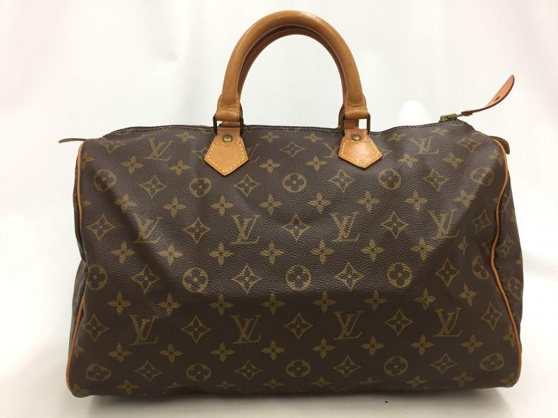 "Photo1: Auth Louis Vuitton Monogram Speedy 35 Hand Bag Vintage 0C220100n"" (1)"