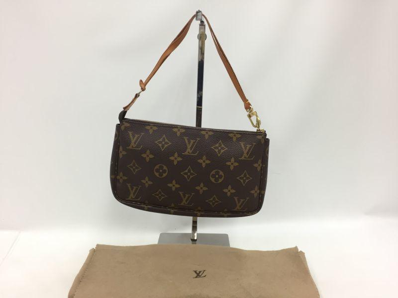 """Photo1: Auth Louis Vuitton Monogram Pochette Accessoires Shoulder bag 0E120080n"""" (1)"""