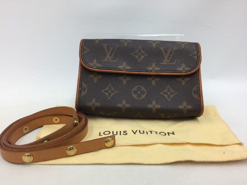"Photo1: Auth Louis Vuitton Monogram Pochette Florentine Bum Bag M51855  0E120090n"" (1)"