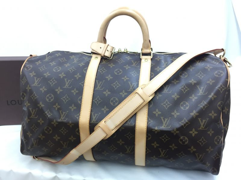 "Photo1: Auth LOUIS VUITTON Monogram Keepall Bandouliere 50 Travel Bag UNUSED 0E120170n"" (1)"