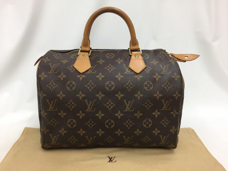 """Photo1: Auth Louis Vuitton Monogram Speedy 30 Hand Bag Vintage 0F100060n"""" (1)"""