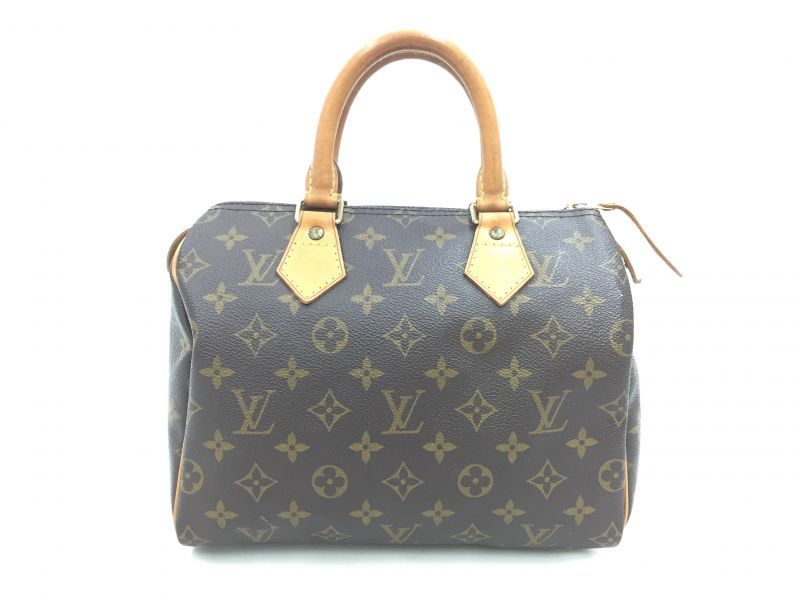 """Photo1: Auth Louis Vuitton Monogram Speedy 25 Hand Bag Vintage 0F100080n"""" (1)"""