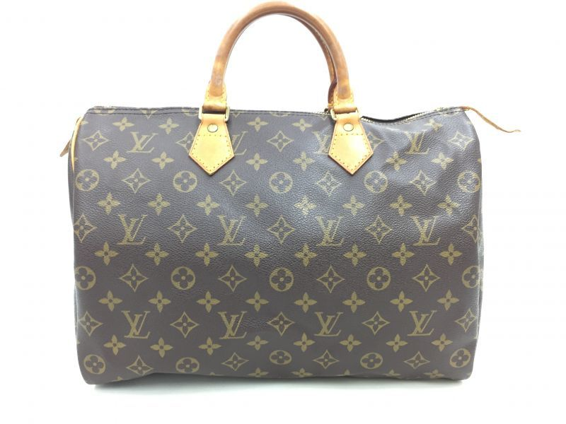 "Photo1: Auth Louis Vuitton Monogram Speedy 35 Hand Bag Vintage 0F170060n"" (1)"