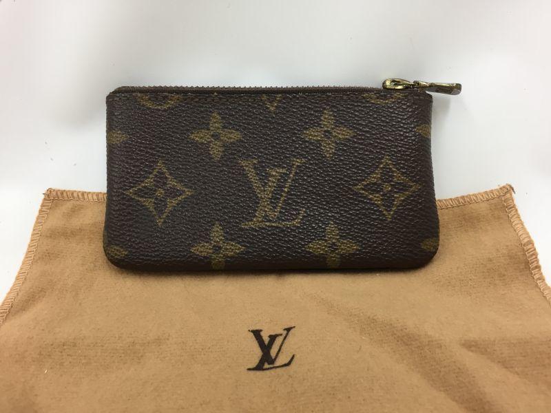 """Photo1: Auth Louis Vuitton Monogram Pochette Cles Coin Case Vintage 0F230100n"""" (1)"""