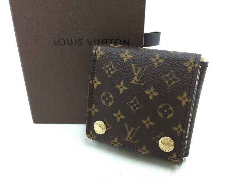 "Photo1: Auth Louis Vuitton Monogram Mini Jewelry Folding Case 0F230180n"" (1)"