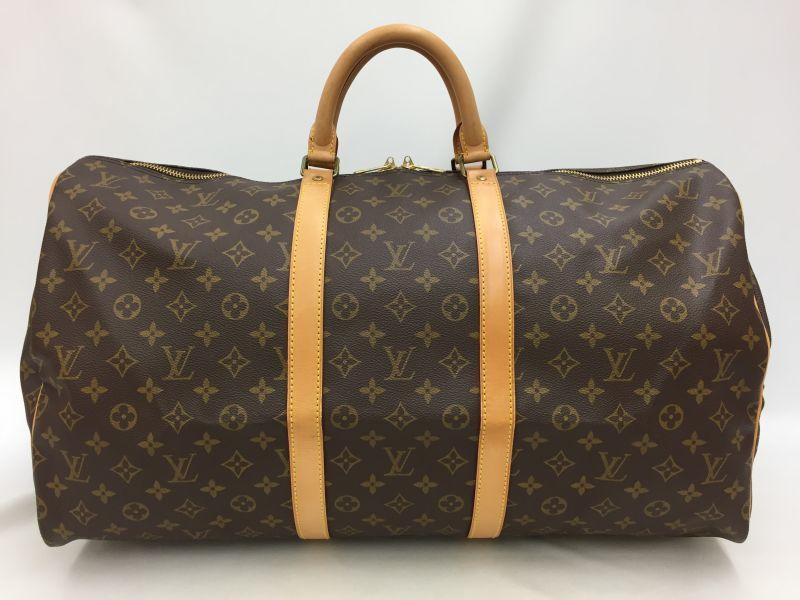 "Photo1: Auth Louis Vuitton Monogram Keepall 50 Travel Hand Bag Vintage 0F230010n"" (1)"