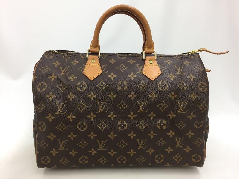"""Photo1: Auth Louis Vuitton Monogram Speedy 35 Hand Bag Vintage 0G020080n"""" (1)"""