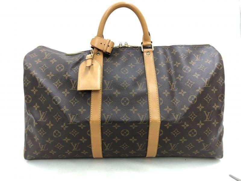 "Photo1: Auth Louis Vuitton Vintage Monogram Keepall 50 Travel Hand Bag 0G090030n"" (1)"