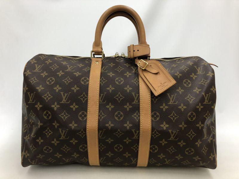 "Photo1: Auth Louis Vuitton Vintage Monogram Keepall 50 Travel Hand Bag 0G090020n"" (1)"