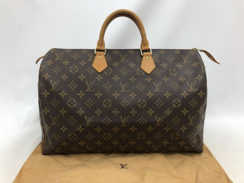 """Photo1: Auth Louis Vuitton Vintage Monogram Speedy 40 Hand Bag 0G090010n"""" (1)"""